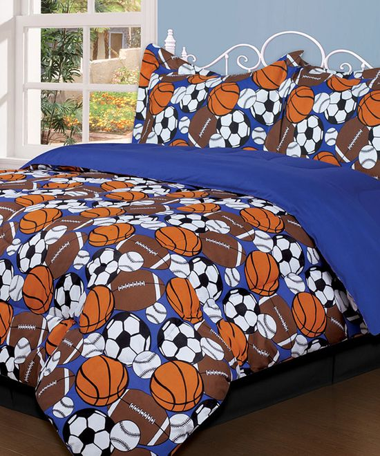 Sporty Bedding.