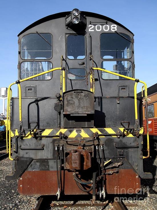 Vintage Railroad Trains      .....rh