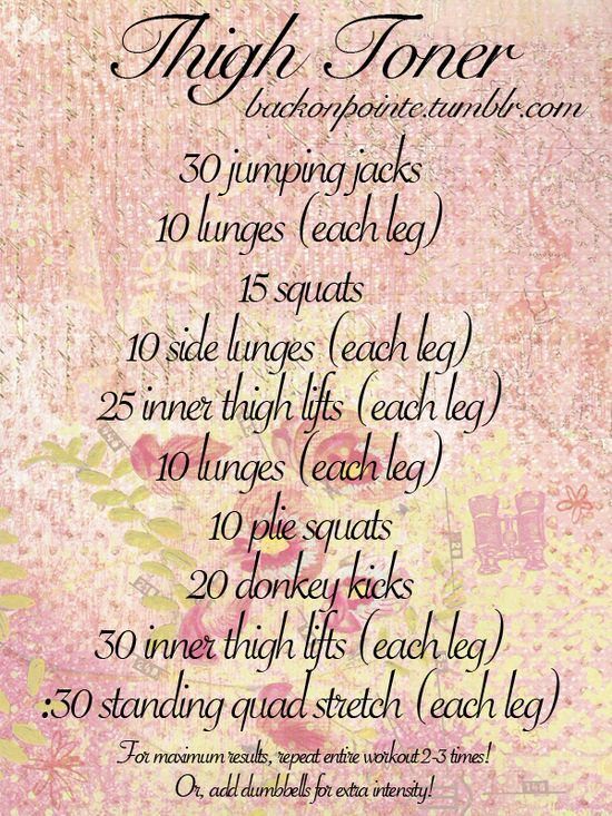 workout for the thighs