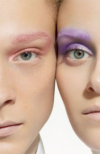 MAC Coloured Pressed Pigments - pastel makeup