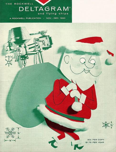Deltagram Santa