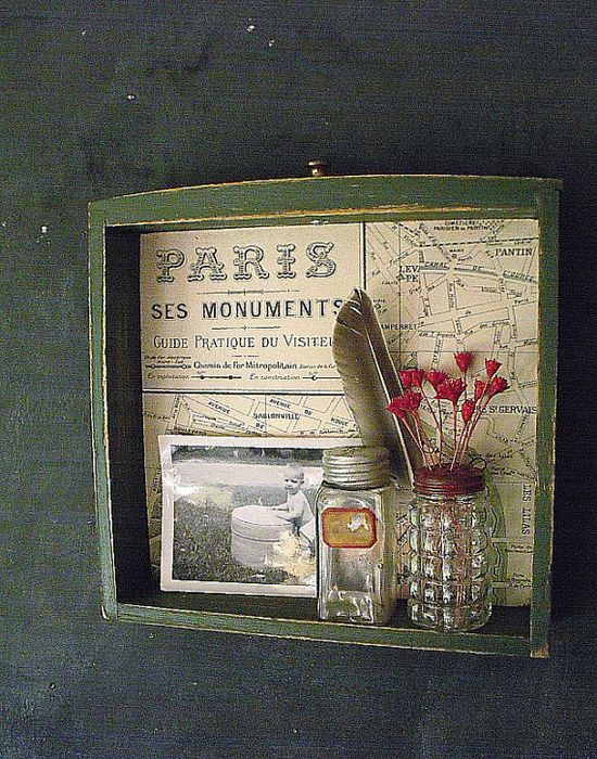 Cute idea with an old drawer!