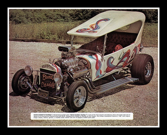 """""""David Cassidy's Touring T"""" Show Car, , 1974 by Cosmo Lutz, via Flickr"""