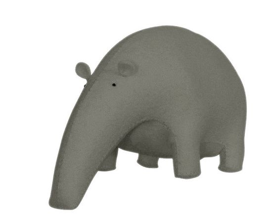 Stuffed Animal TAPIR via Etsy