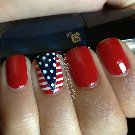 July 4th Manicure