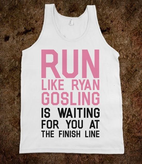 Run For Gosling - SWEET TANKS - Skreened T-shirts, Organic Shirts, Hoodies, Kids Tees, Baby One-Pieces and Tote Bags Custom T-Shirts, Organic Shirts, Hoodies, Novelty Gifts, Kids Apparel, Baby One-Pieces