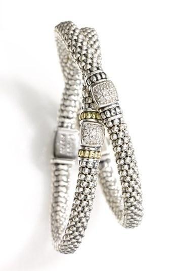 Stunning! Diamond Rope Bracelets