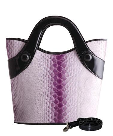 Purple Python Nina Tote by Bravo Handbags on #zulily
