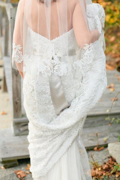 Lovely lace. Photography by erinmcginn.com  Read more - www.stylemepretty...