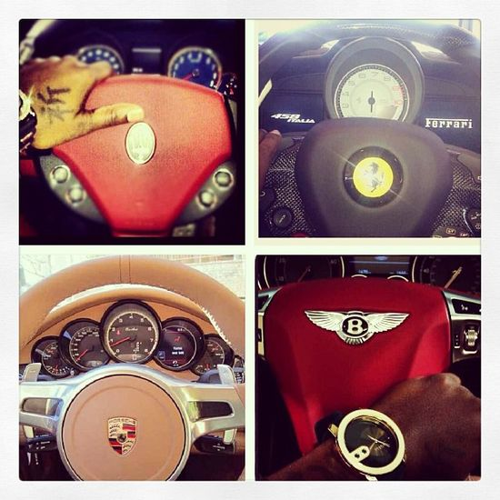 Out of these four, which wheel would you like to have your hands on? It's the Ferrari 458 italia for us!