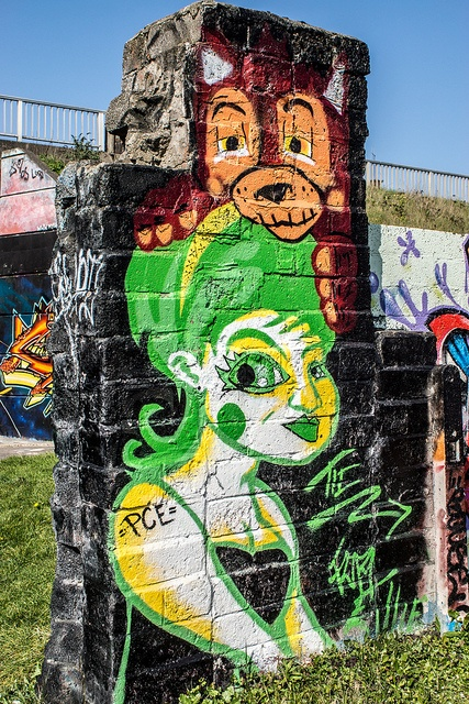 ?? Drogheda hosts the worlds longest-running annual graffiti art event on the undercrofts of the Bridge of Peace every August. This event has seen some of the worlds top artists visit the site since the walls were first painted in 1993