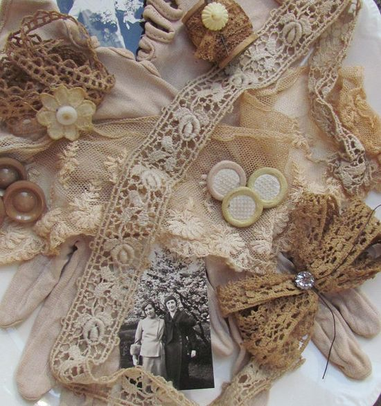 Sweet vintage lace