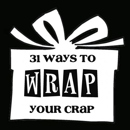 This is such a good idea for wrapping gifts!
