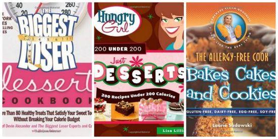 3 Healthy Dessert Cookbooks #cookbooks #dessert #getinmybelly