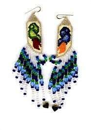 Angel Wings Pendant Beading Tutorial PDF File by SmadarsTreasure