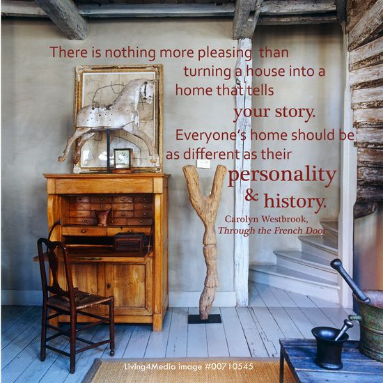 Everybody's #Home should be as different as their #personalities & #History.  #Interior #Design #Quote #Inspiration #Living4Media
