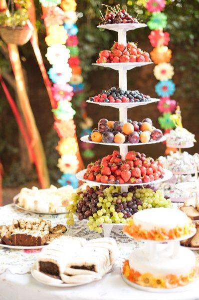 fruit table #Fresh Fruit