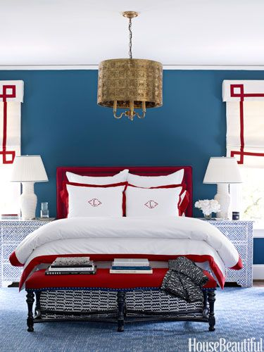 Colorful Bedroom Decorating Ideas - Paint Color Ideas for Bedrooms - House Beautiful