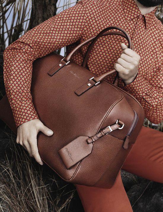 Salvatore Ferragamo Spring/Summer Men's Bag Collection 2013