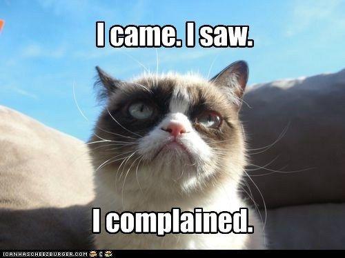 Grumpy Cat has a...grumpy