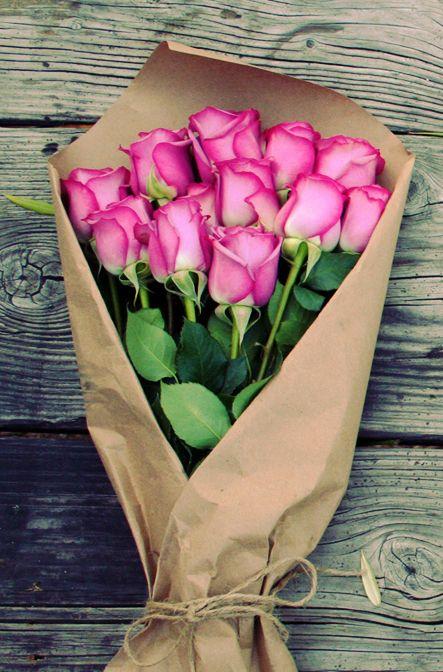 Fresh-cut roses