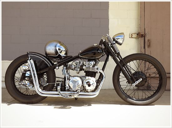 Honda CB550Bobber - Pipeburn - Purveyors of Classic Motorcycles, Cafe Racers & Custom motorbikes