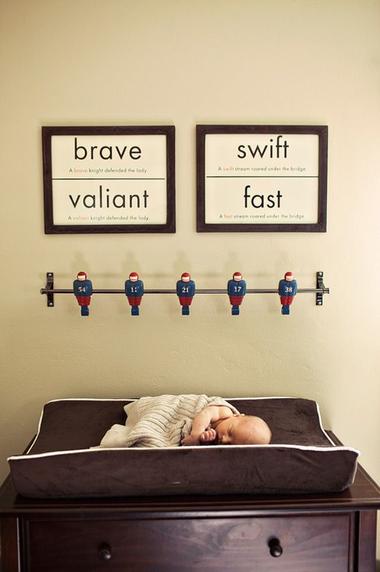 baby name meanings on the wall