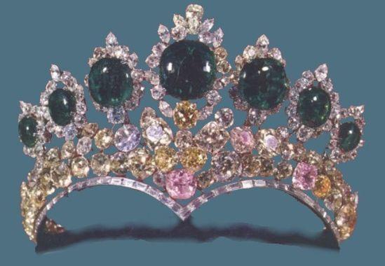 Seven Emeralds Tiara
