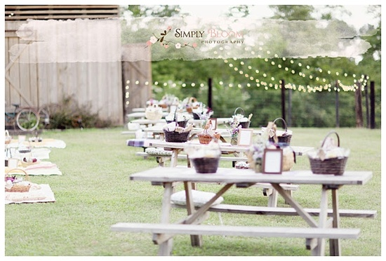 Picnic Wedding Ideas @simplybloomphotography