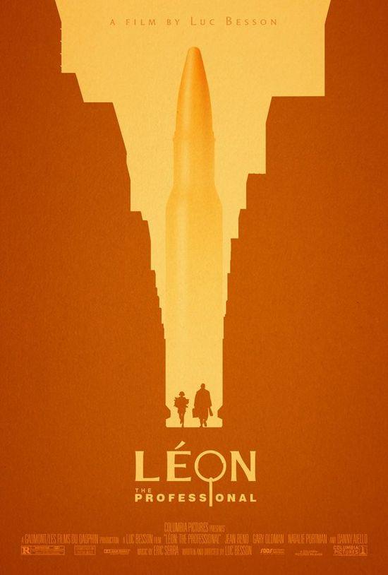 Adam Rabalais Movie Poster Leon