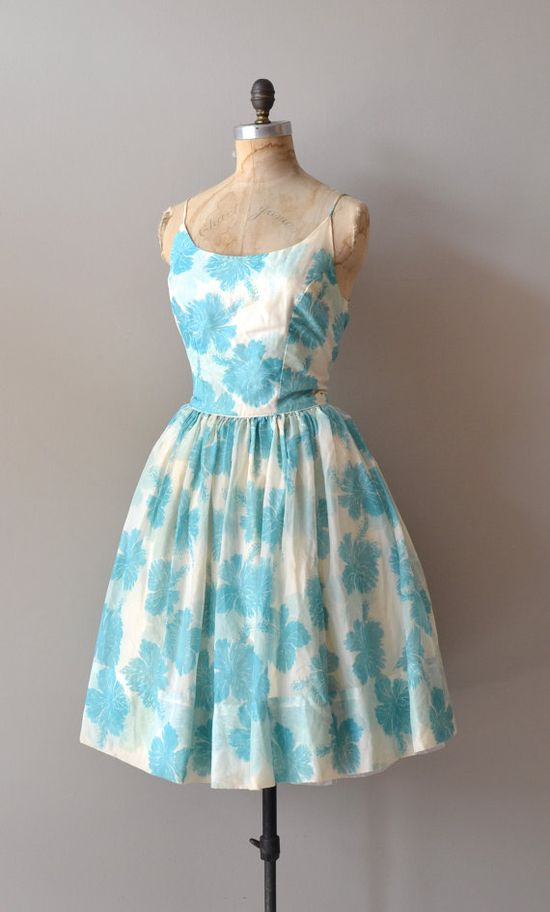cotton 1950s dress