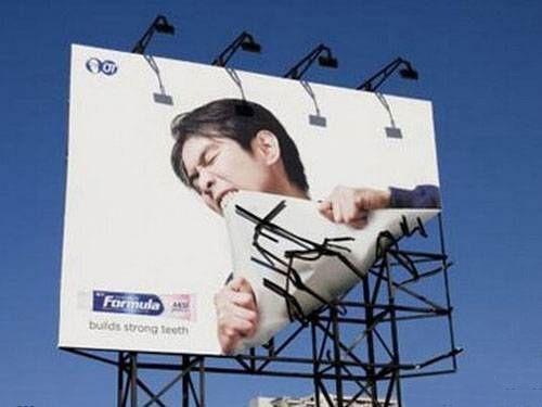 strong teeth #advertising #ad #creative