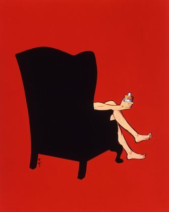 The Black Chair - Gruau