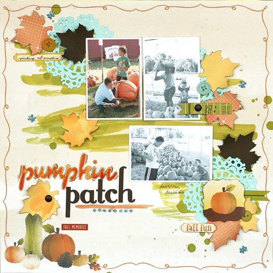 pumpkin patch - Scrapbook.com