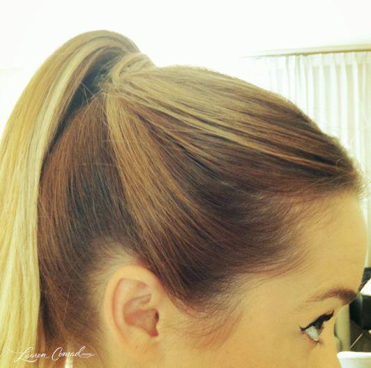 Lauren Conrad's ponytail