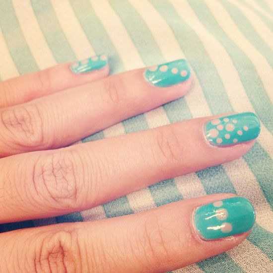 bcbv's nails! Show us your tips—tag your nail photos with #SephoraNailspotting to be featured on our social sites!