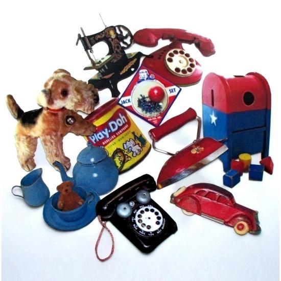 Miniature Vintage toys