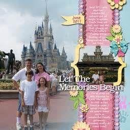 Disney scrapbook ideas - Bing Images