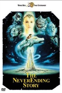 'The Never Ending Story' My three year old son enjoyed also this movie.  You can't go wrong with fantasy...