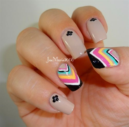 Chevrons Nail Design