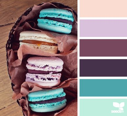 macaron hues color scheme from Design Seeds