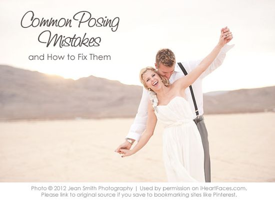 Common Posing Mistakes and How to Fix Them