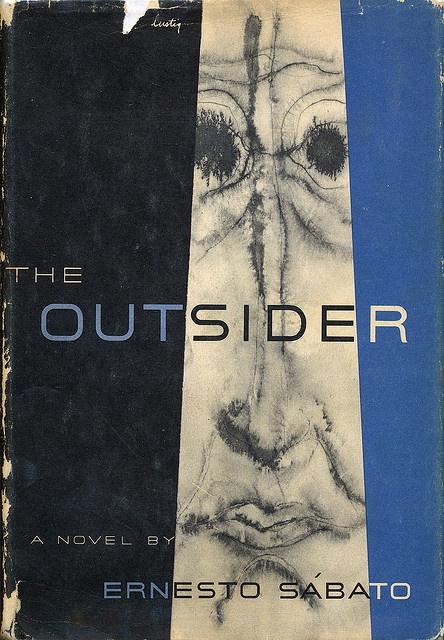 The Outsider book jacket by Alvin Lustig by Scott Lindberg, via Flickr