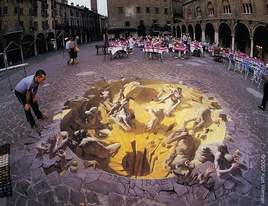 3d, artwork, chalk, Inspiration, Photography, sidewalk, Street, illustration,