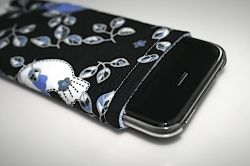 You can cover your iPhone or iPod touch with cases and screen protectors but if you want something to make it feel even cuter and cozier in your...