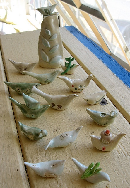 clay birds...I need to do birds with my K's again...it's been too long.