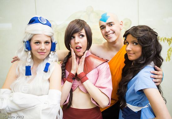 Avatar Group Cosplay