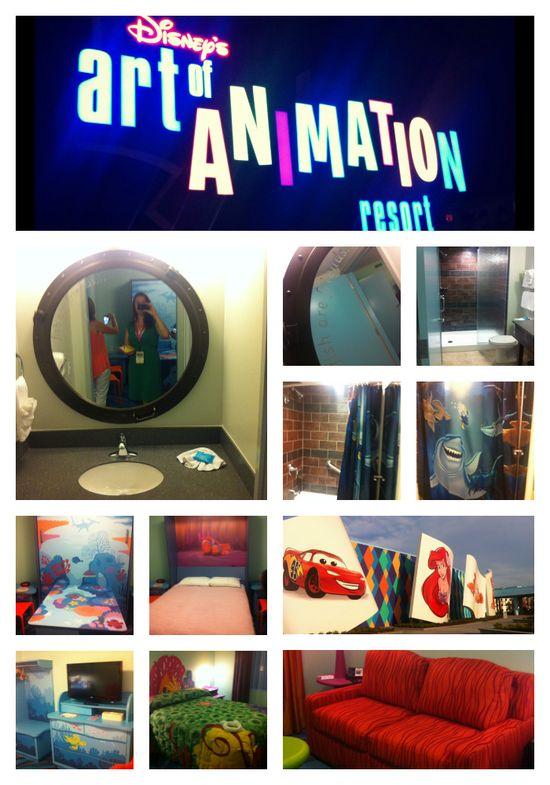 A sneak peek at Disney's Art of Animation Resort