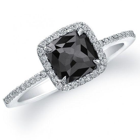 Jewelry, : black diamond ring bands