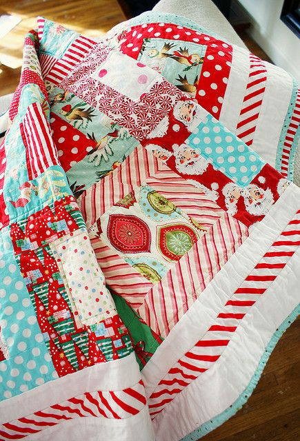 Christmas quilt- love it